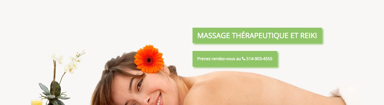 Photo de femme en train de masser